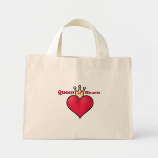 LADIES QUEEN OF HEARTS HANDBAG