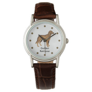Ladies Retriever Dog Breed Wristwatch