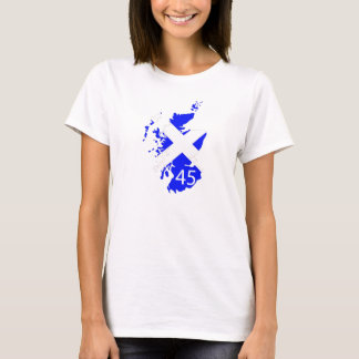 Ladies Scotland 45 tshirt