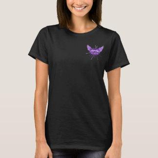Ladies Skull and Wings Tee
