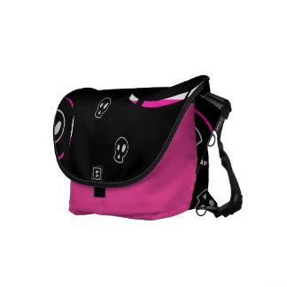 Ladies Skulls Rickshaw Messenger Bag