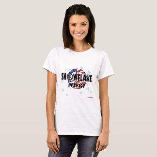 Ladies Snowflake Patriot T T-Shirt