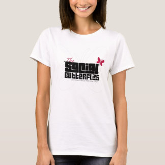 Ladies Social Butterflies Team Shirt