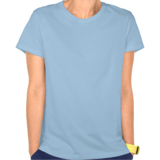 Ladies Spaghetti Top Fitted - Blue T Shirts