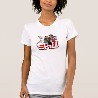 Ladies Spill Crew T T-Shirt