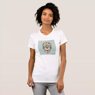 Ladies Sugar Skull T Shirt