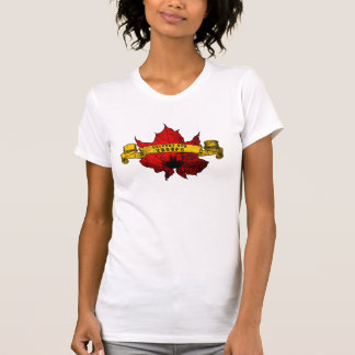 Ladies Support Our Troops V Neck T-shirt