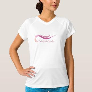 Ladies t-shirt v neck