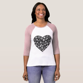 Ladies t-shirt with Bio vegetable