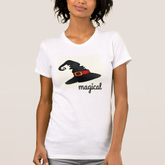 Ladies T-Shirt with wizards hat logo