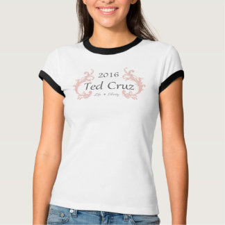 Ladies Ted Cruz For President Tee / T-Shirt 2016