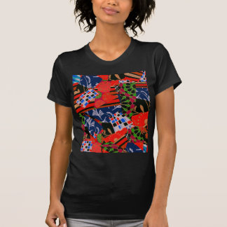 Ladies' Tee with Brilliant Collage