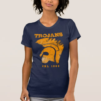 Ladies Trojan Deep V T-Shirt