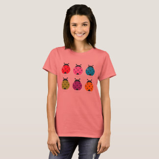 Ladies tshirt with bugs