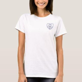 ladies tshirt with club logo
