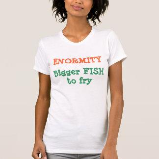Ladies Twofer Sheer (Fitted)  ENORMITY BIGGER FISH T-Shirt