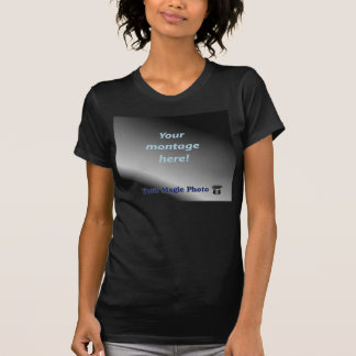 Ladies Twofer Sheer (Fitted) Tee Shirts