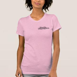 Ladies Twofer Sheer Tee Shirt