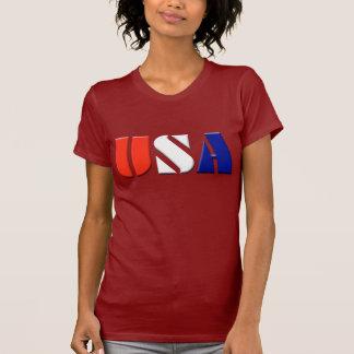 Ladies USA Patriotic Top