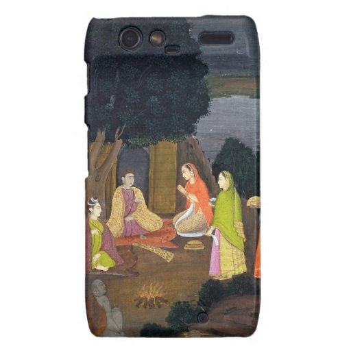 Ladies visiting a Yogini, School of Faqurullah Kha Motorola Droid RAZR Covers