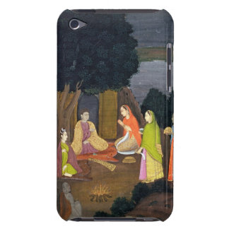 Ladies visiting a Yogini, School of Faqurullah Kha Case-Mate iPod Touch Case