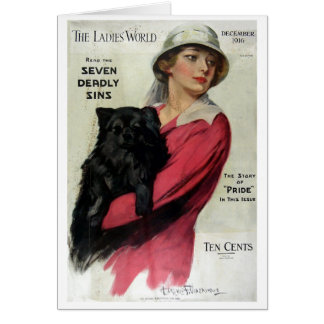 Ladies World 1916 Card