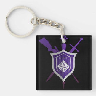 LadiesrdTable Key Chain