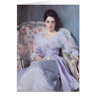Lady Agnew fine art Card