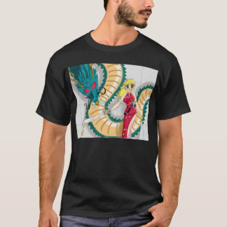 Lady and the Dragon T-Shirt
