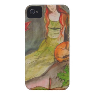 Lady and The Fox iPhone 4 Case-Mate Cases