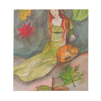 Lady and The Fox Notepad