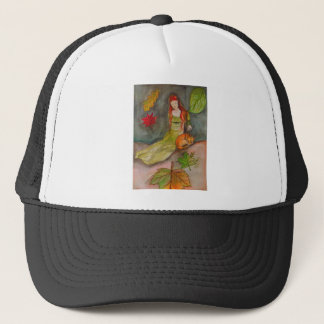 Lady and The Fox Trucker Hat