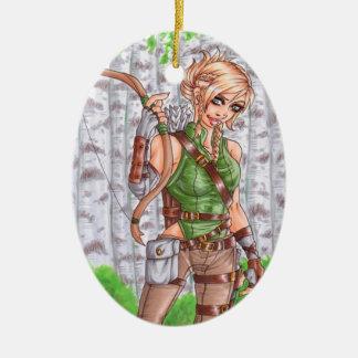 Lady Archer Ornament