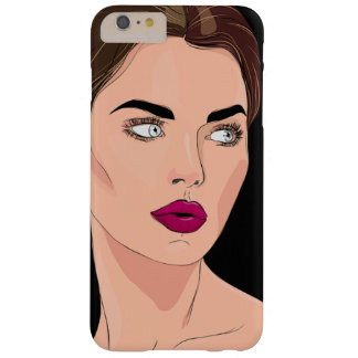 Lady Barely There iPhone 6 Plus Case