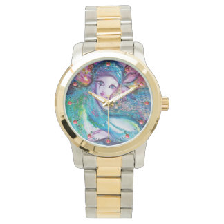 LADY BLUE MASK Elegant Venetian Masquerade Watch