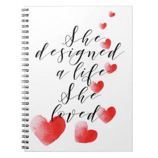 Lady boss inspirational notebook
