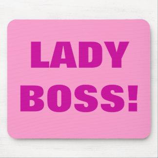 LADY BOSS! MOUSE PAD