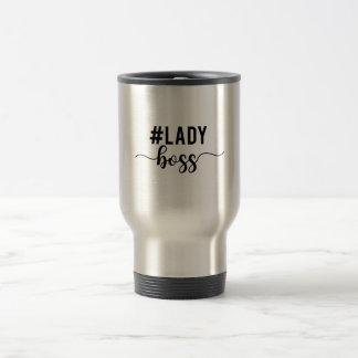 lady boss travel mug
