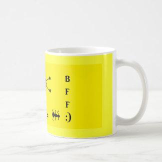lady bug and ant coffee mug