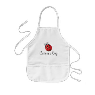 Lady Bug - Cute as a Bug Kids Apron