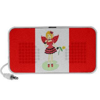 Lady Bug Fairy iPod Speaker