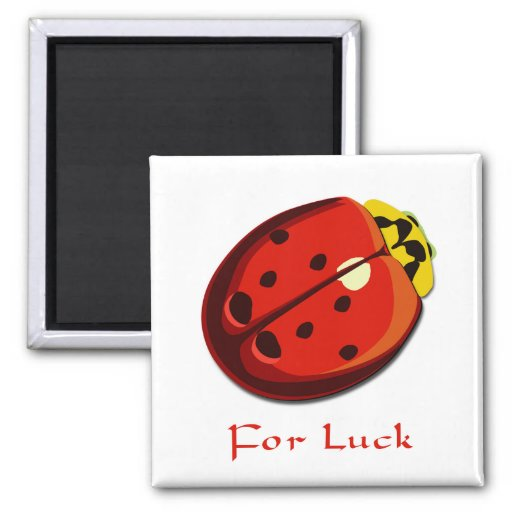 Lady Bug - For Luck Magnets