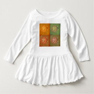 lady bug little girls shirt