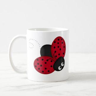 Lady Bug Luck coffee mug