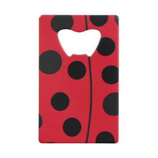Lady Bug Red and Black Design