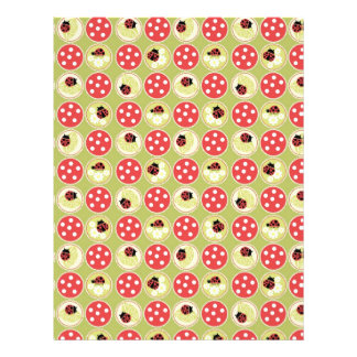 Lady Bug Scrapbook Paper Dual-sided 2 21.5 Cm X 28 Cm Flyer