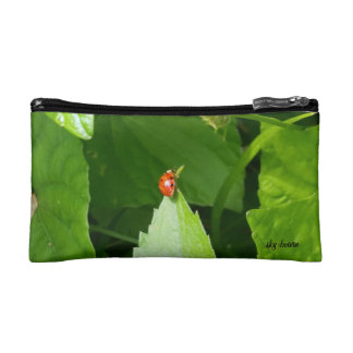 lady bug small cosmetic bag