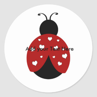 Lady Bug Stickers