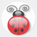 lady bug stickers