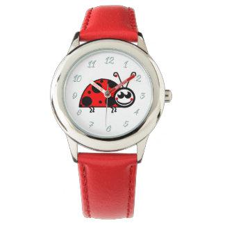Lady-Bug Watch (Kids) Red By Zazz_it
